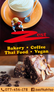Zest Coffee House, Koh Tao