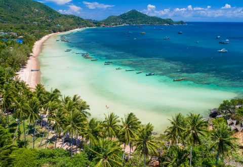 Koh Tao beaches and bay — Sairee Beach