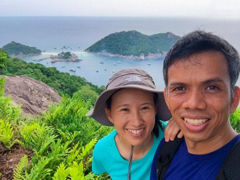 Bongkotrat and Ekapon Krobtong – Authors of KOH TAO : a Complete Guide