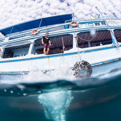 Bans Diving Resort, Koh Tao - Diving Boat