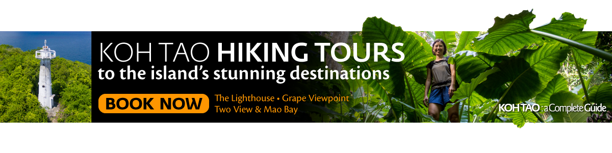 Koh Tao Hiking Tours to Grape Viewpoint, Lighthouse - Book Now