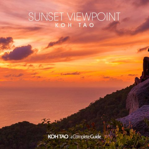 Sunset Viewpoint, Koh Tao (จุดชมวิวซันเซ็ท)