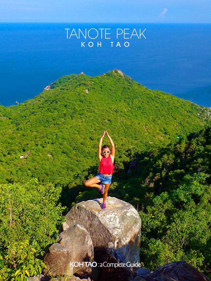 Tanote Peak Viewpoint, Koh Tao (จุดชมวิวโตนดพีค)