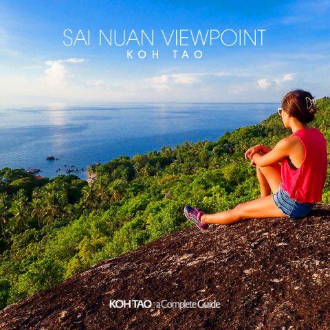 Sai Nuan Viewpoint, Koh Tao (จุดชมวิวทรายนวล)