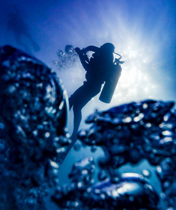 Scuba Diving at New Heaven Dive School, Koh Tao