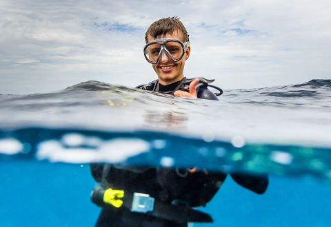 โรงเรียนสอนดำน้ำบนเกาะเต่า - นิวเฮเว่นไดฟ์สคูล