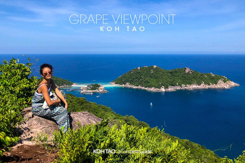 Grape Viewpoint, Koh Tao (จุดชมวิวเกรปวิวพ้อยท์)