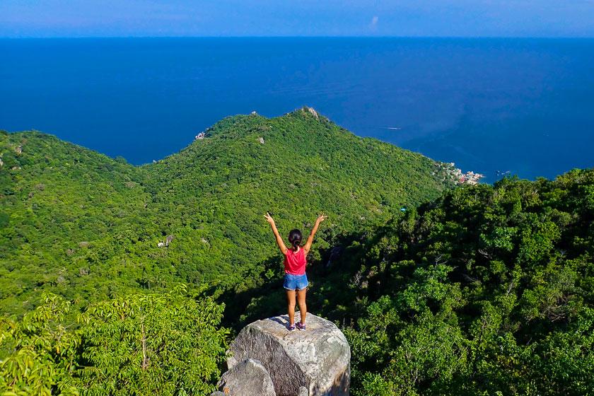 Koh Tao Hiking Tour - Two View and Mao Bay