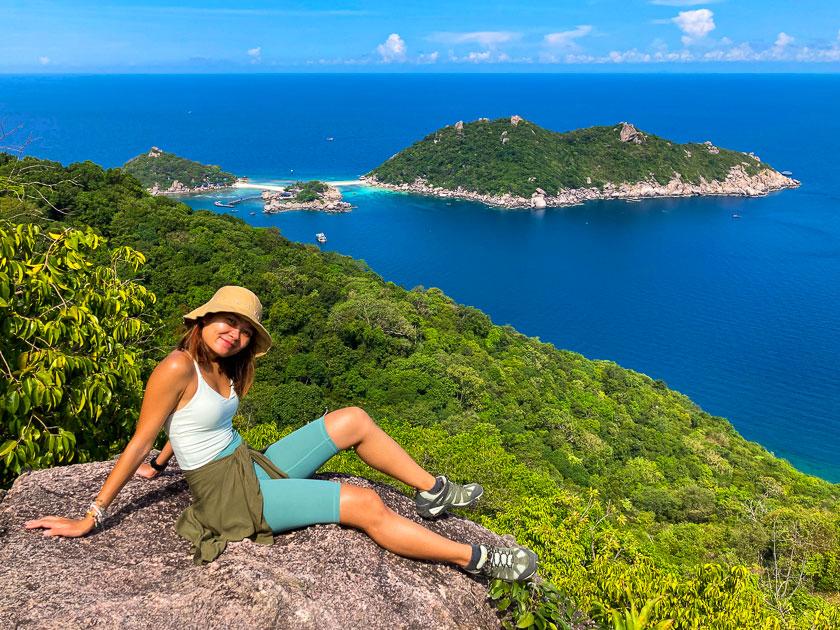 ไฮกิ้งเกาะเต่า เดินป่าเกรปวิวพ้อยท์