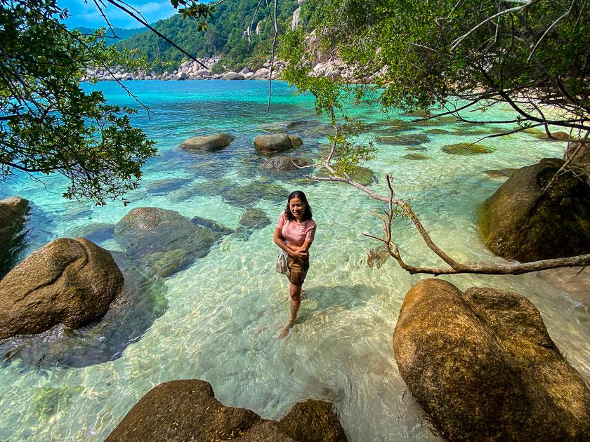 เดินป่าเกาะเต่า ไฮกิ้งโตนดพีค-อ่าวเมา