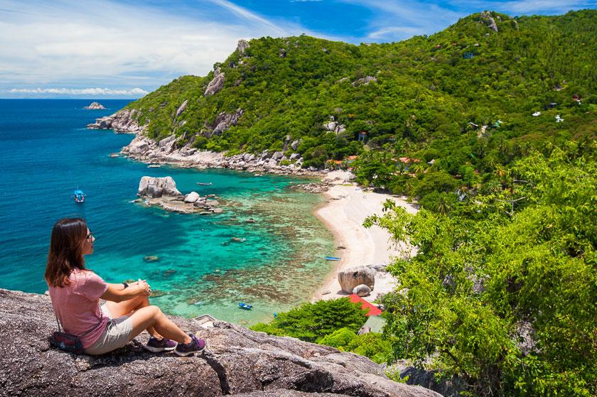 จุดชมวิว Secret Rock View อ่าวโตนด เกาะเต่า